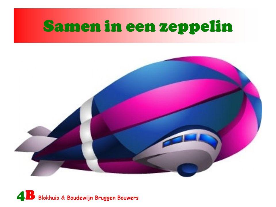 Samen in een zeppelin 4B Blokhuis & Boudewijn Bruggen Bouwers