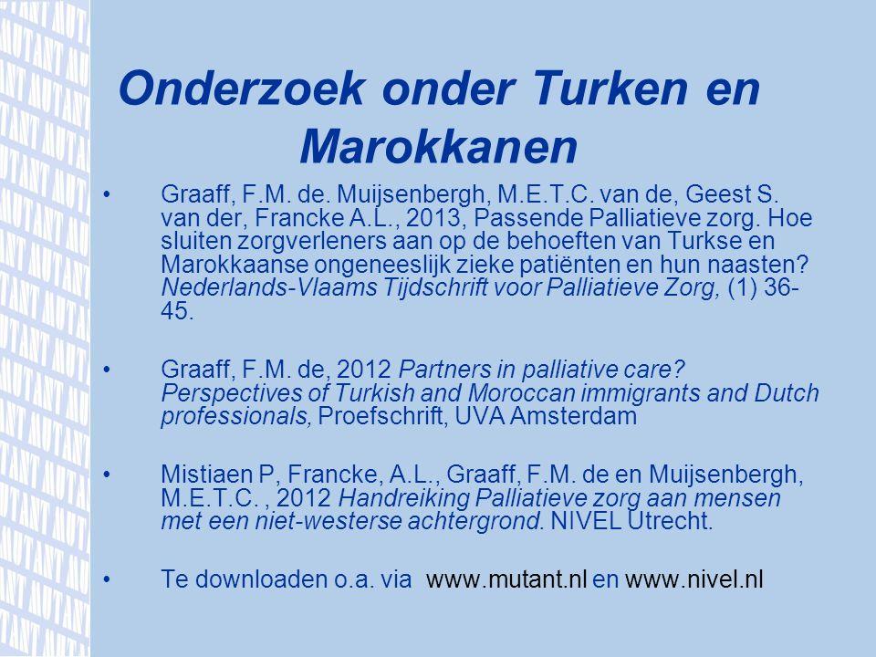 Graaff, F.M. de. Muijsenbergh, M.E.T.C. van de, Geest S.