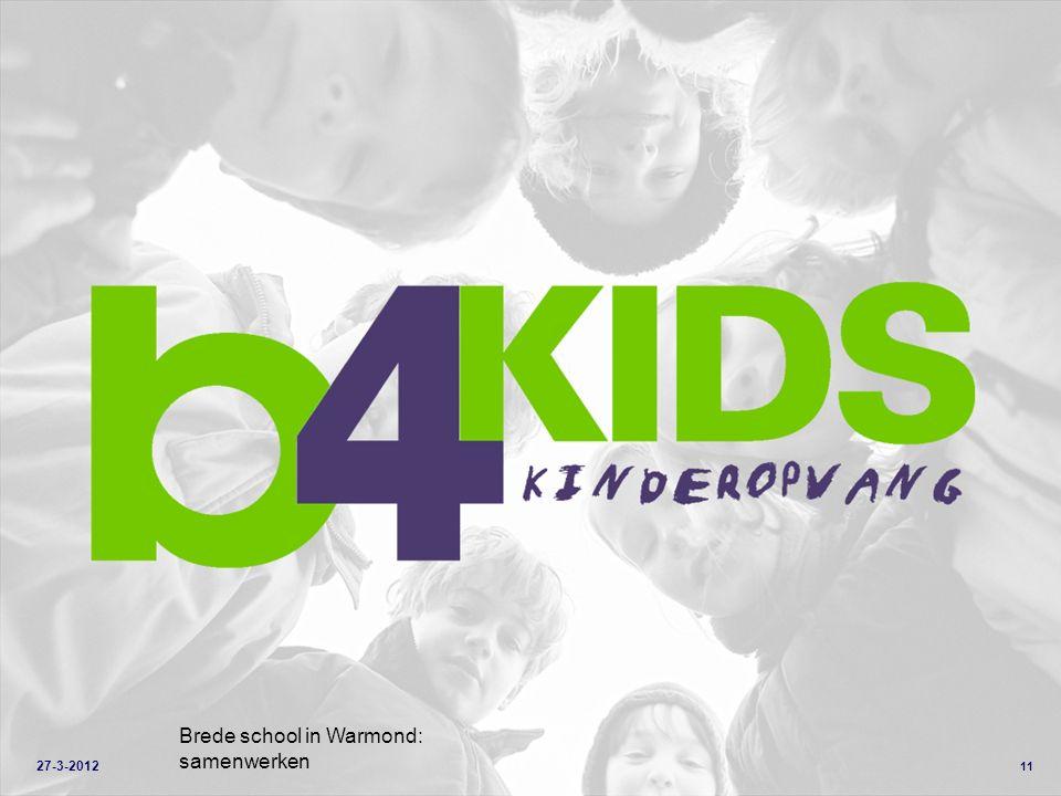 11 Brede school in Warmond: samenwerken 27-3-2012