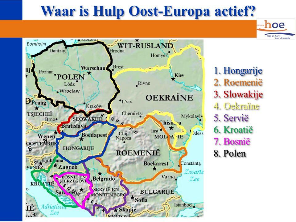 Een vakantiebijbelweek in Oost-Europa