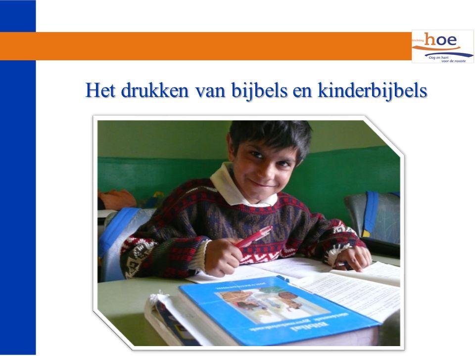 Het drukken van bijbels en kinderbijbels Het drukken van bijbels en kinderbijbels