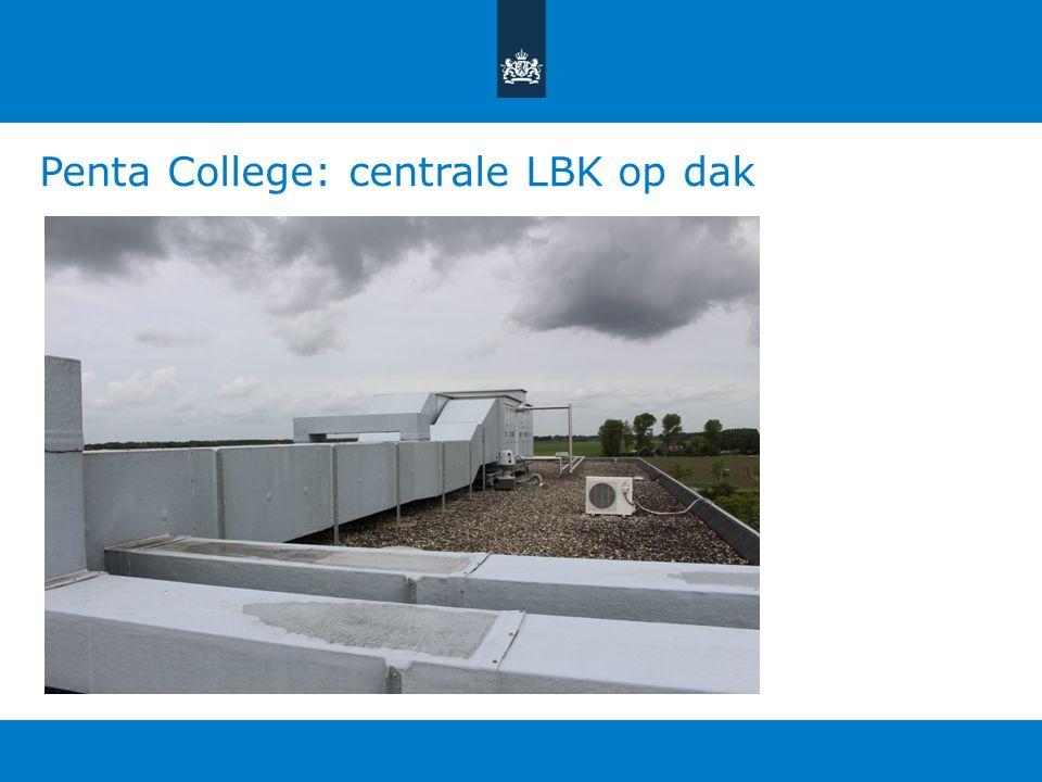 Penta College: centrale LBK op dak