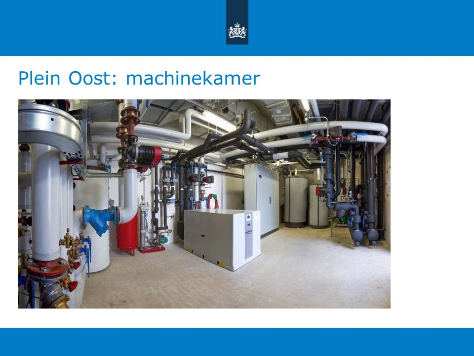 Plein Oost: machinekamer