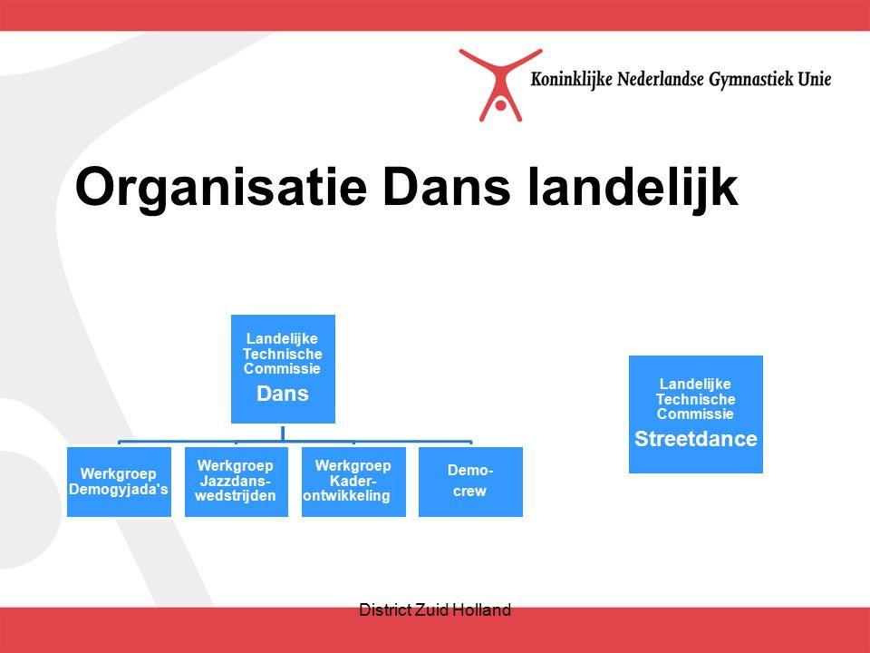 Wat zijn uw wensen t.a.v. DANS in district Zuid-Holland? District Zuid Holland