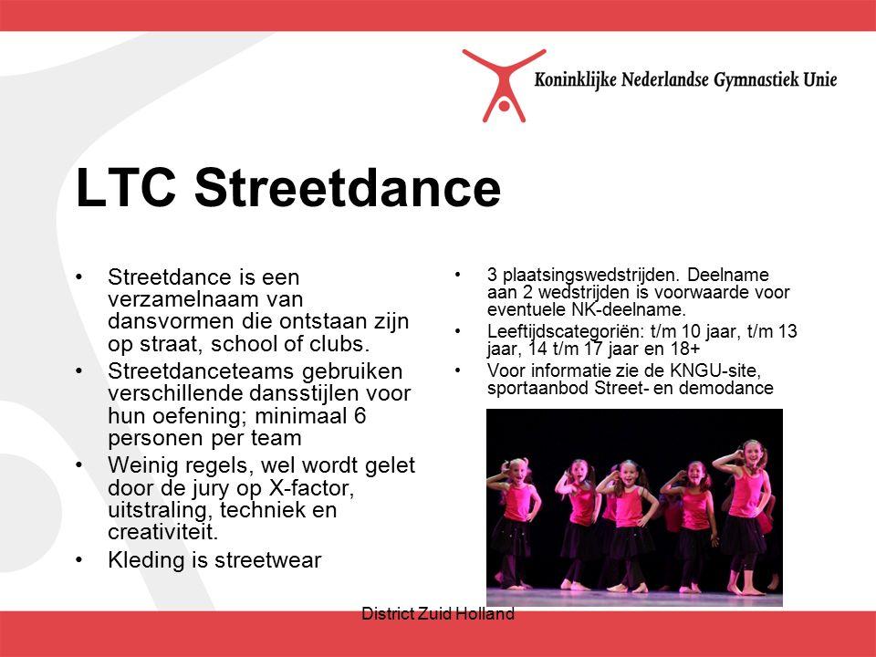 LTC Streetdance Streetdance is een verzamelnaam van dansvormen die ontstaan zijn op straat, school of clubs.