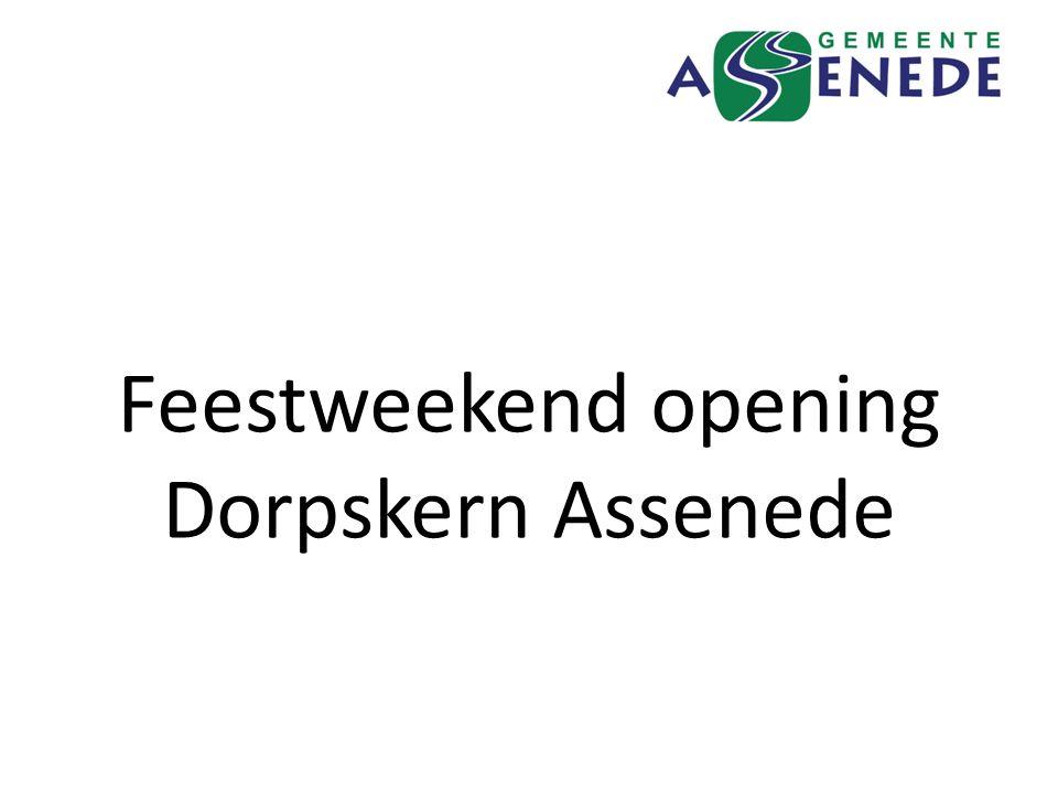 Feestweekend opening Dorpskern Assenede