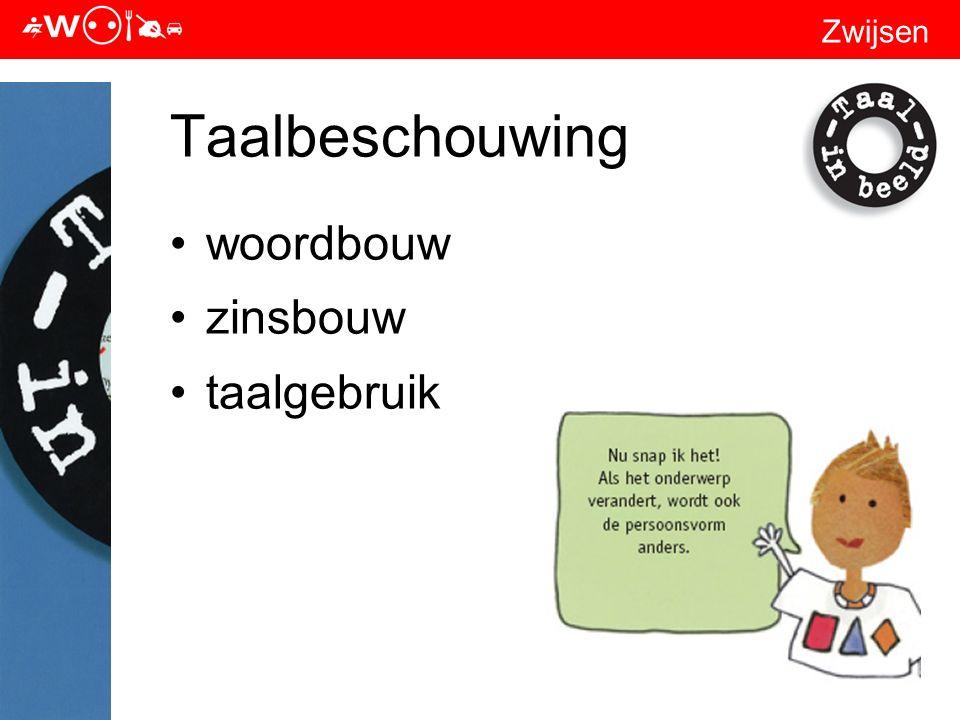 Zwijsen Taalbeschouwing woordbouw zinsbouw taalgebruik