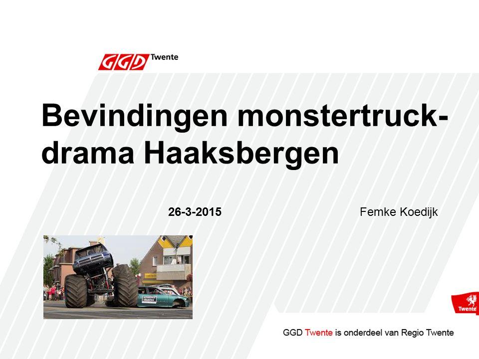 Bevindingen monstertruck- drama Haaksbergen 26-3-2015Femke Koedijk