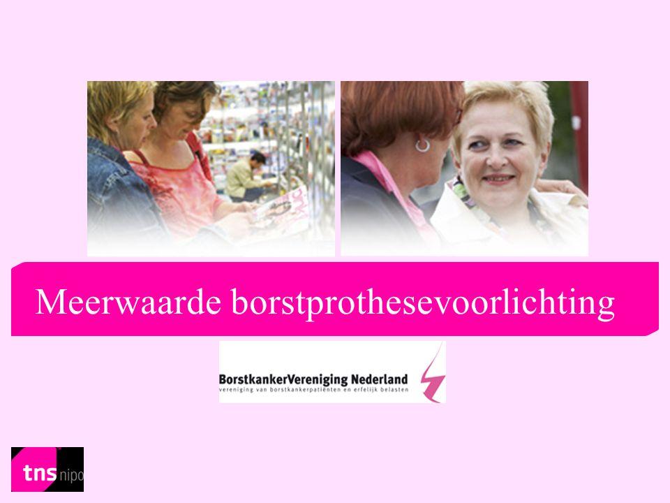 2 Index Meerwaarde borstprothesevoorlichting van de BVN TNS NIPO Sophie van Schieveen juli 2008  Onderzoeksverantwoording  H1.