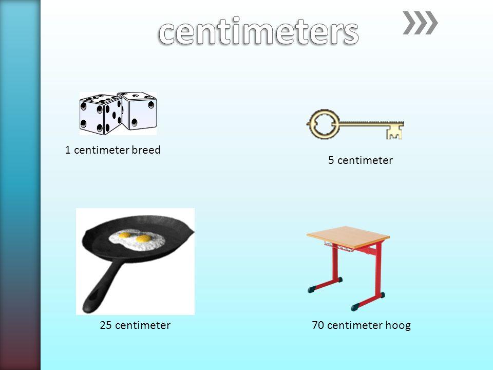 1 centimeter breed 25 centimeter 5 centimeter 70 centimeter hoog
