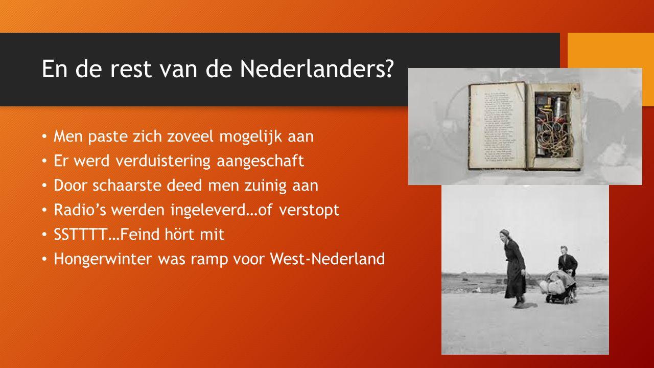 En de rest van de Nederlanders.