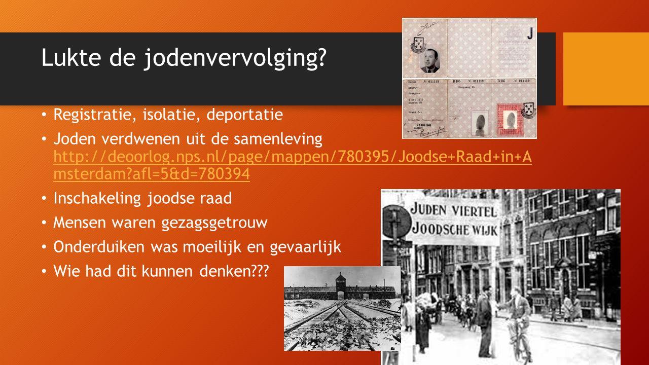De Joodse raad in Enschede In Enschede ging het iets anders Daar werd de helft van de joden gered (landelijk nog geen 25%) Dankzij Sieg Menko en dominee Overduin http://deoorlog.nps.nl/page/mappen/783007/Vergelijking+Ensche de+en+Amsterdam?afl=5&d=780394 http://deoorlog.nps.nl/page/mappen/783007/Vergelijking+Ensche de+en+Amsterdam?afl=5&d=780394