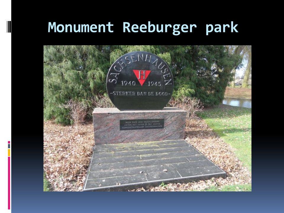 Monument Reeburger park