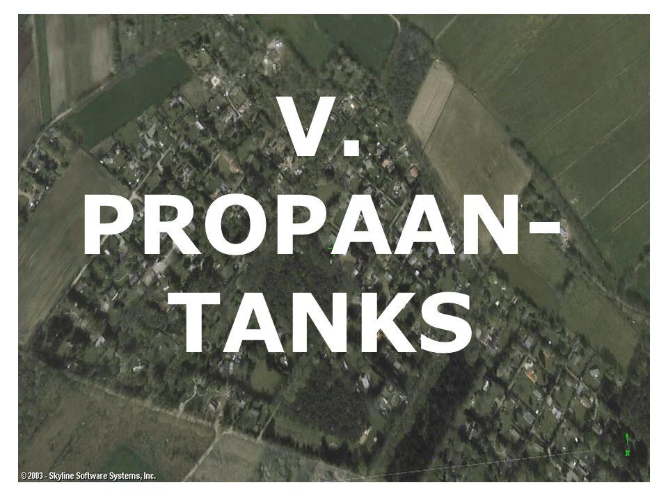 V. PROPAAN- TANKS