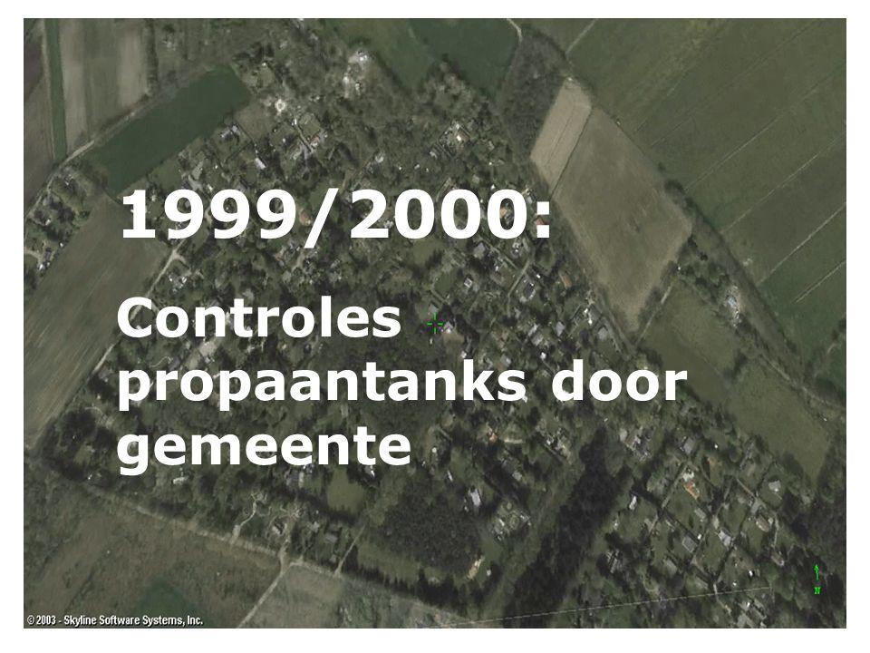  2000 vuurwerkramp Enschede.  2001 – 2004 aanscherping wetten