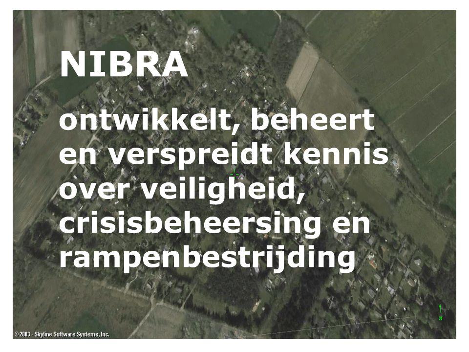 NIBRA ontwikkelt, beheert en verspreidt kennis over veiligheid, crisisbeheersing en rampenbestrijding