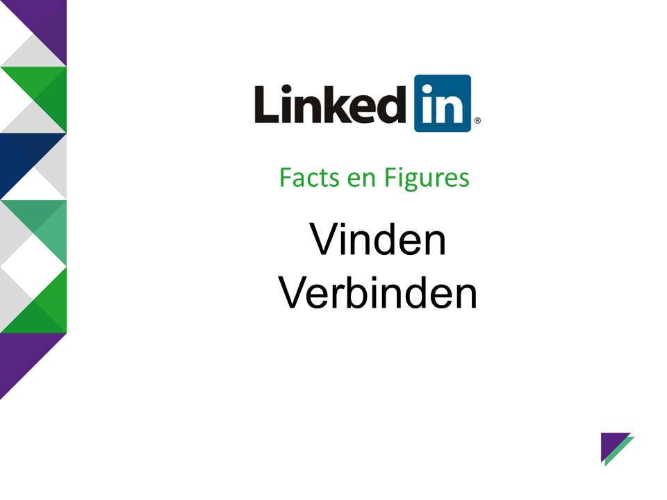 Facts en Figures Vinden Verbinden