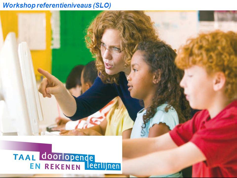 Inhoud Aanleiding tot de referentieniveaus Wat zijn referentieniveaus.