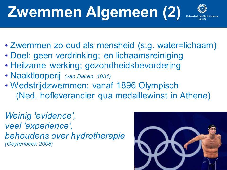 Zwemmen Algemeen (2) Zwemmen zo oud als mensheid (s.g.
