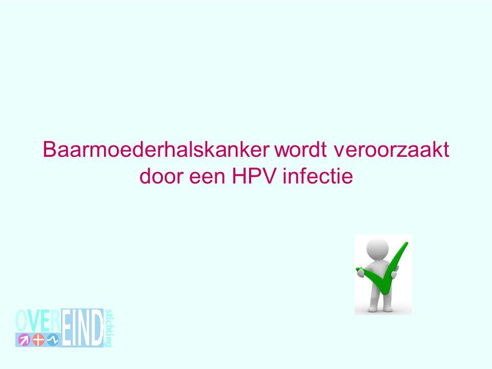 hrHPV en baarmoederhalskanker