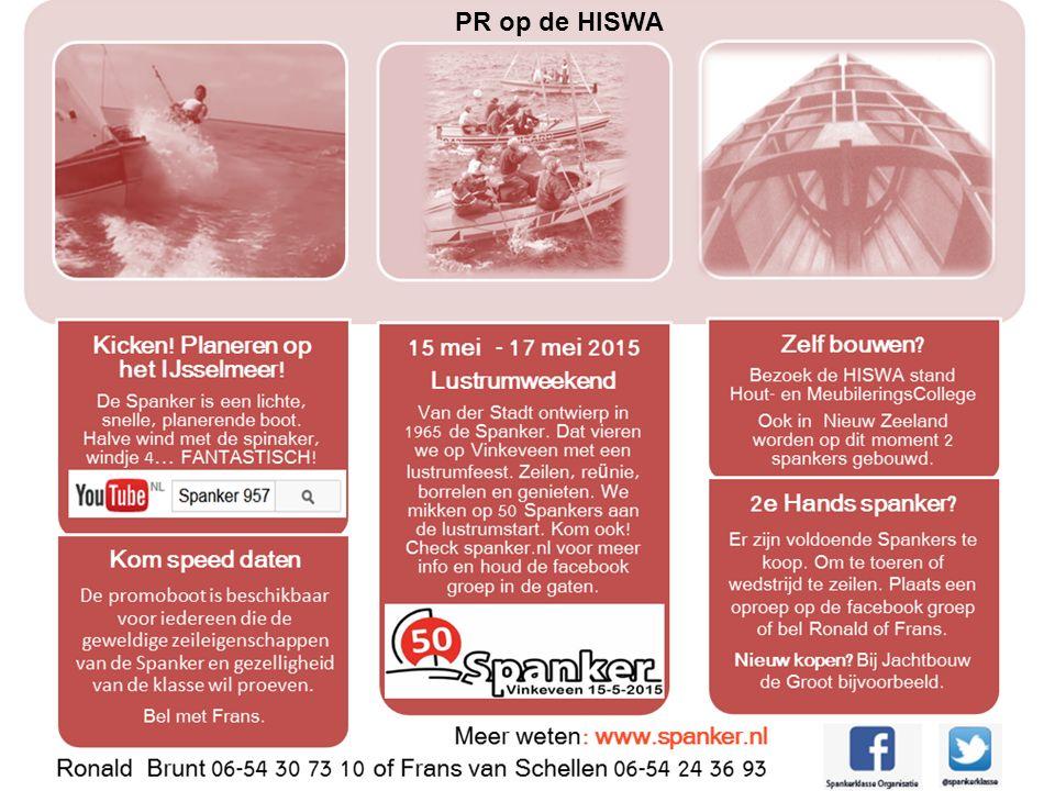 ALV vrijdag 17 november 2006 PR op de HISWA