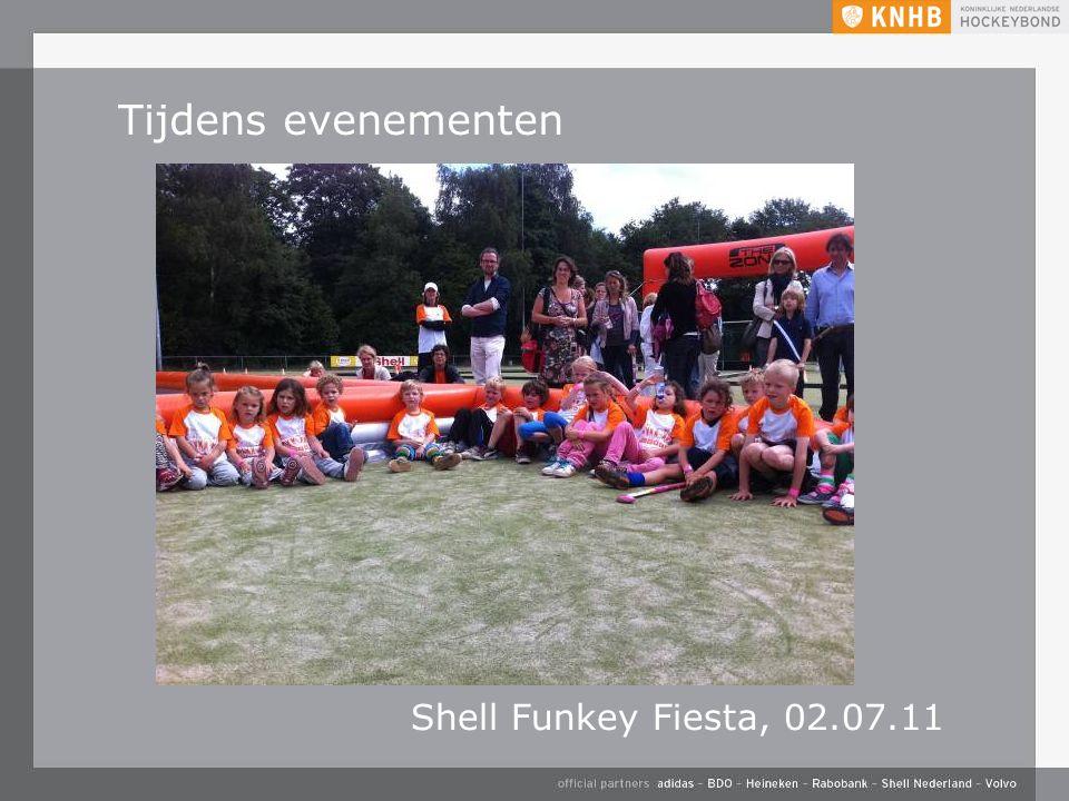 Tijdens evenementen Shell Funkey Fiesta, 02.07.11