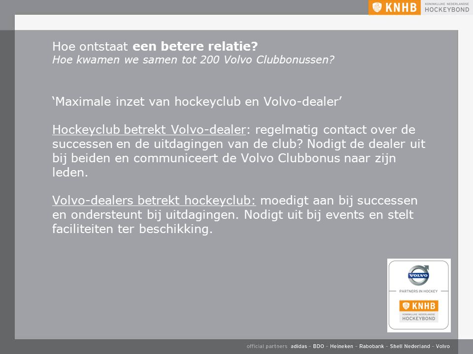 Vereniging / KNHB –WK 2014 –Aanstellen c.q.
