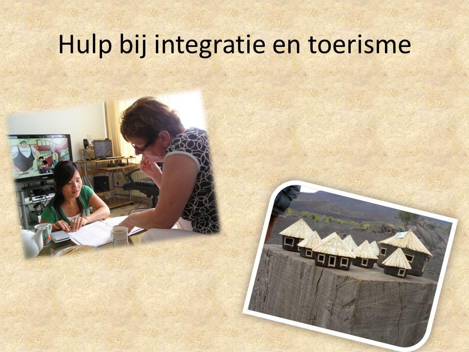 Hulp bij integratie en toerisme