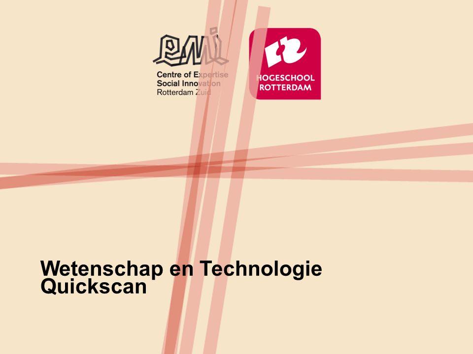 Wetenschap en Technologie Quickscan