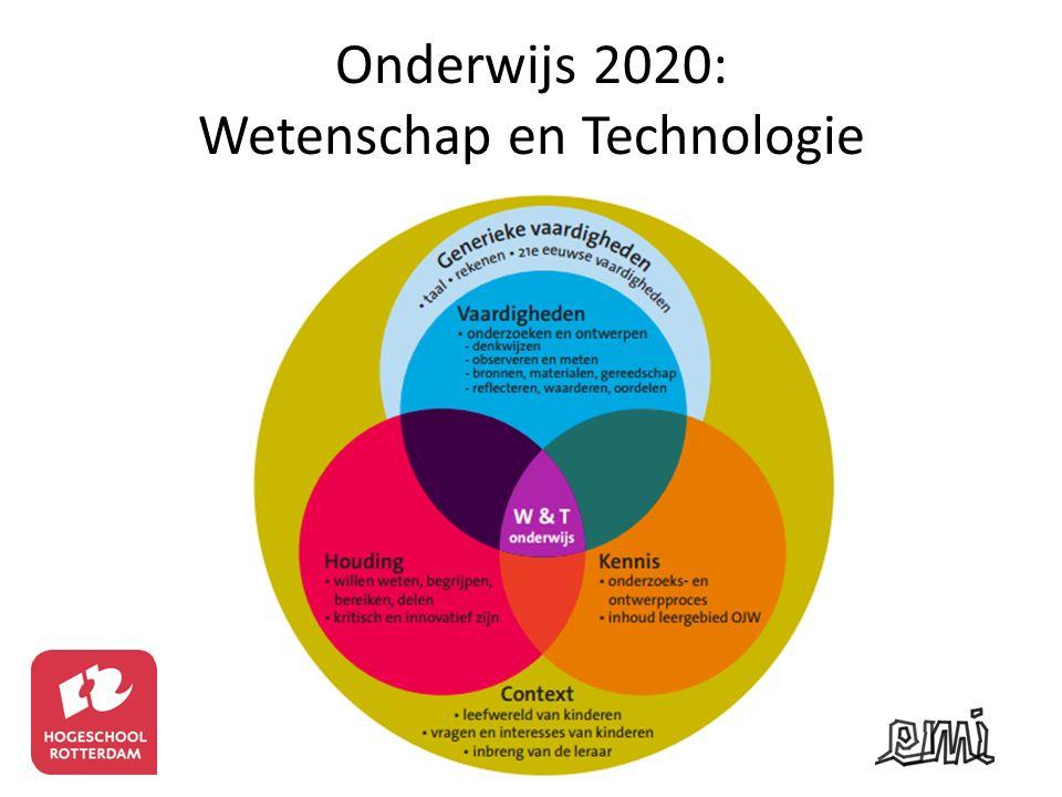 Onderwijs 2020: Wetenschap en Technologie