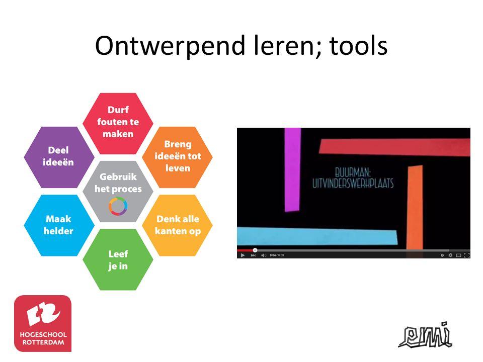 Ontwerpend leren; tools