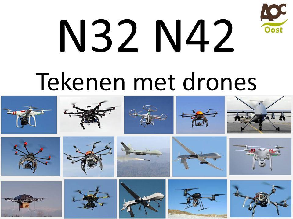 N32 N42 Tekenen met drones
