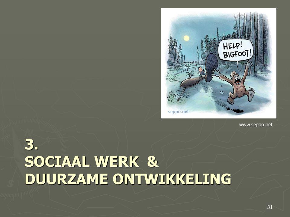 3. SOCIAAL WERK & DUURZAME ONTWIKKELING 31 www.seppo.net