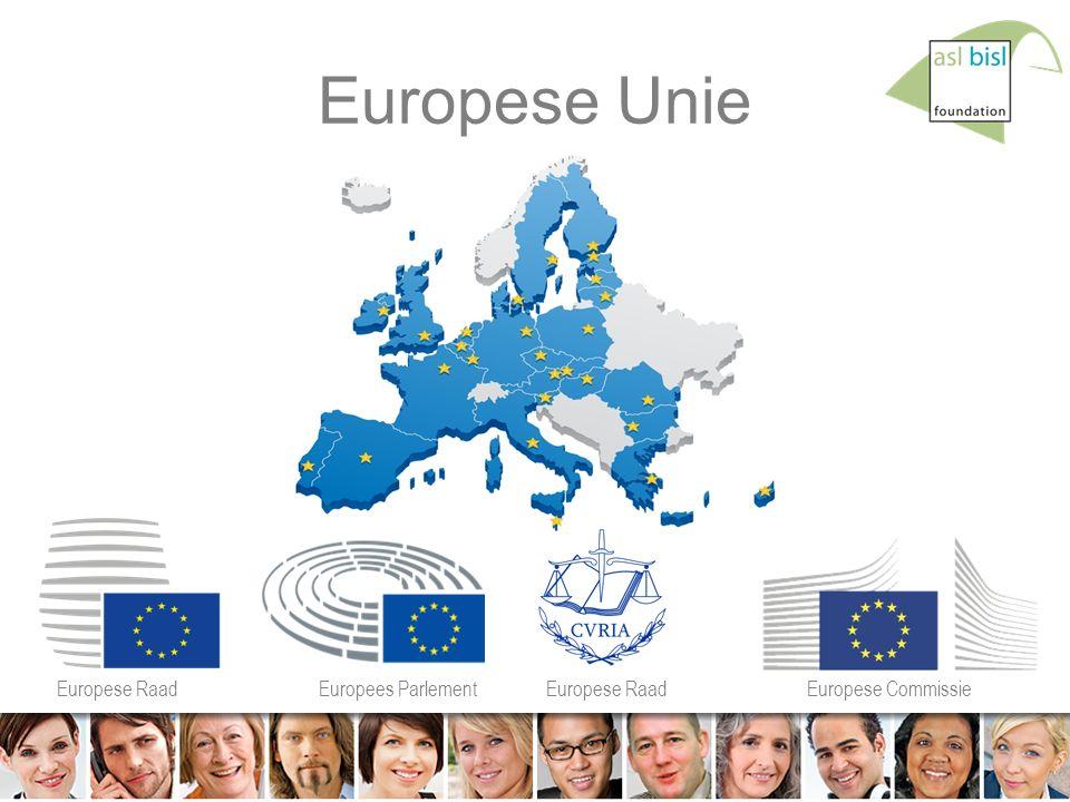 2 © ASL BiSL Foundation Europese Unie Europese RaadEuropees ParlementEuropese RaadEuropese Commissie
