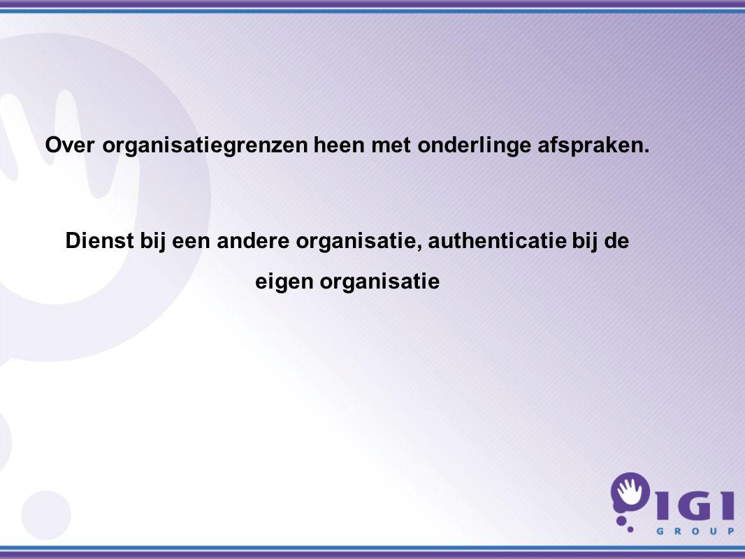 Over organisatiegrenzen heen met onderlinge afspraken.