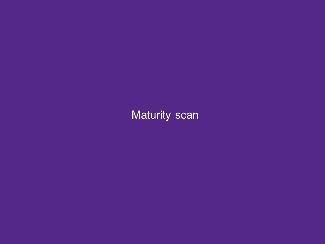 Maturity scan