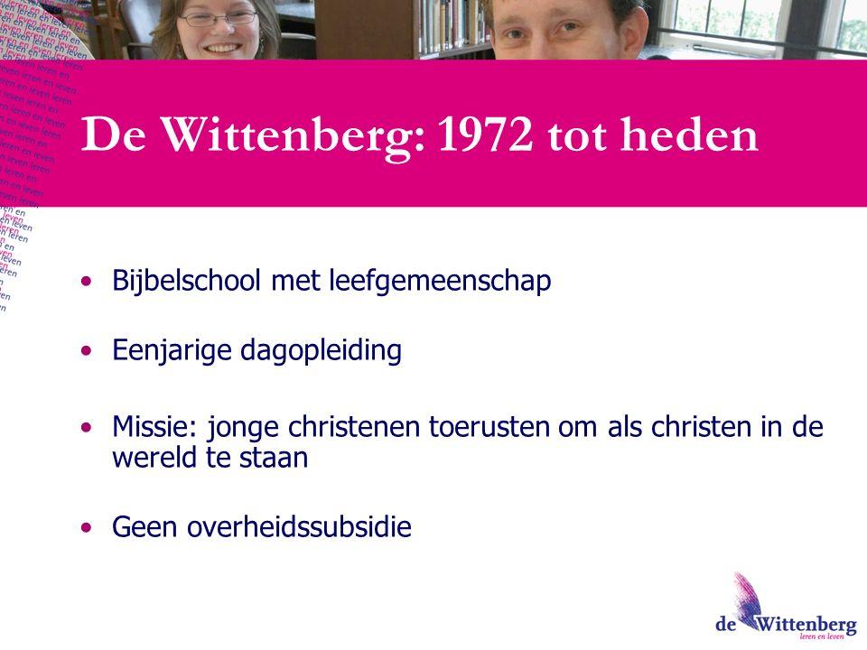 Beginsituatie: de Wittenberg    