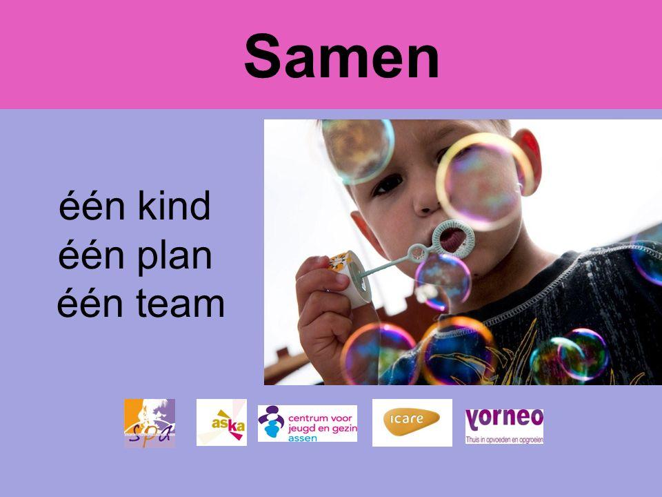 Samen één kind één plan één team