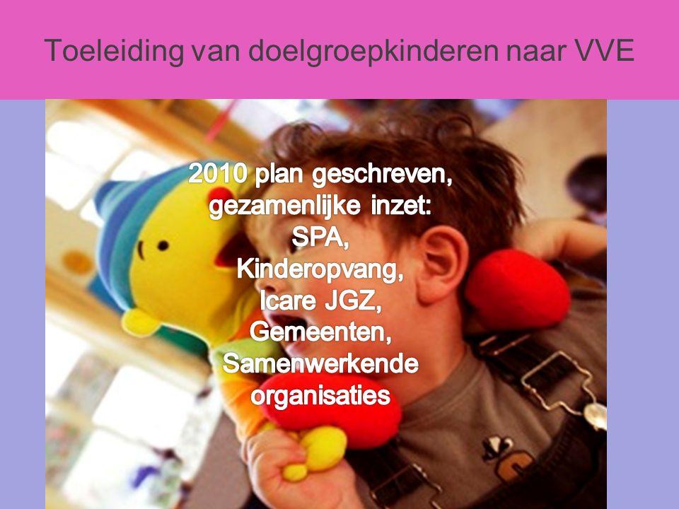 Toeleiding van doelgroepkinderen naar VVE s