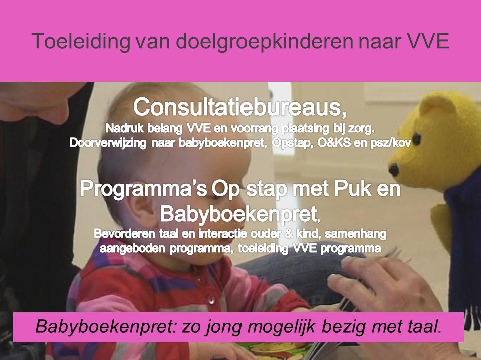 Babyboekenpret: zo jong mogelijk bezig met taal.