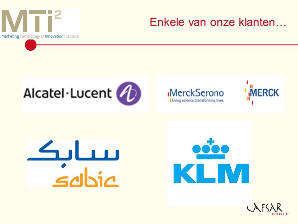 Enkele van onze klanten…