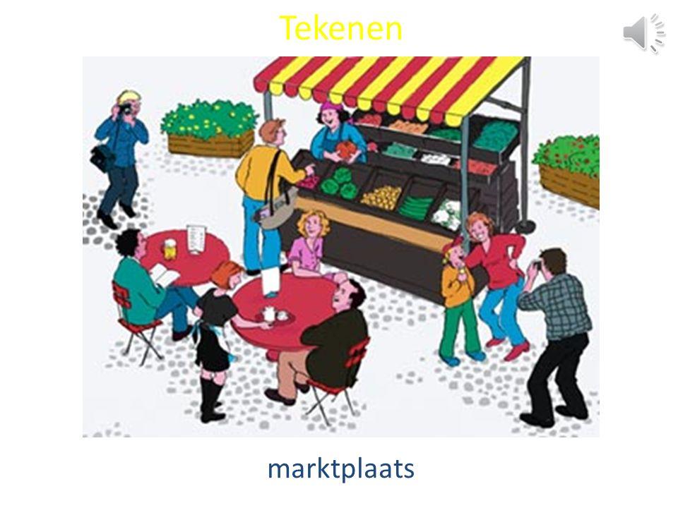 Tekenen marktplaats