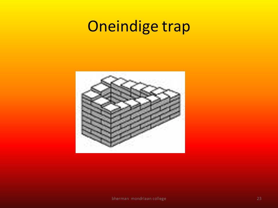 bherman mondriaan college23 Oneindige trap