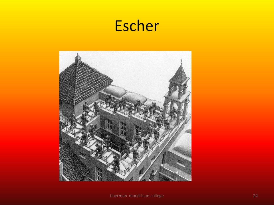 bherman mondriaan college24 Escher