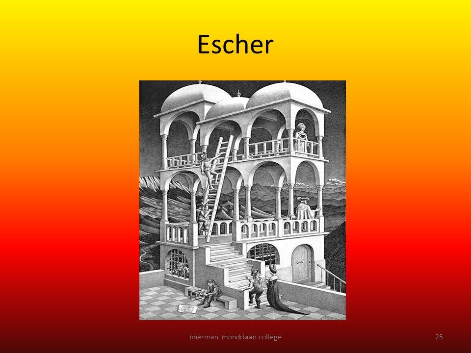 bherman mondriaan college25 Escher