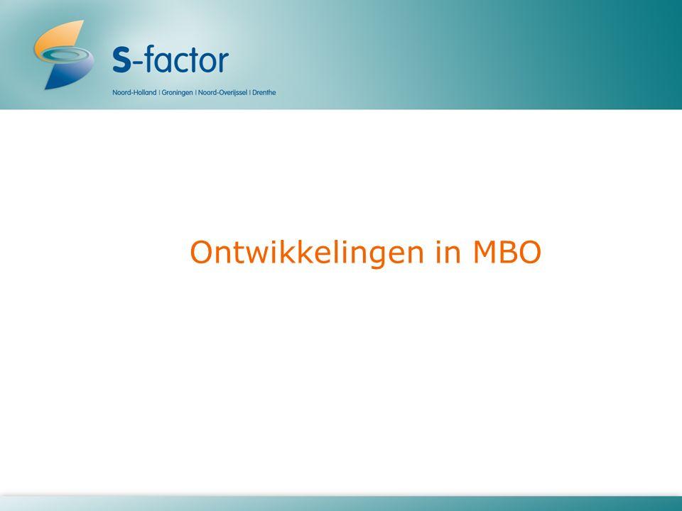 Ontwikkelingen in MBO