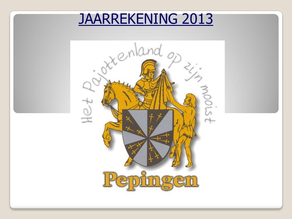 JAARREKENING 2013