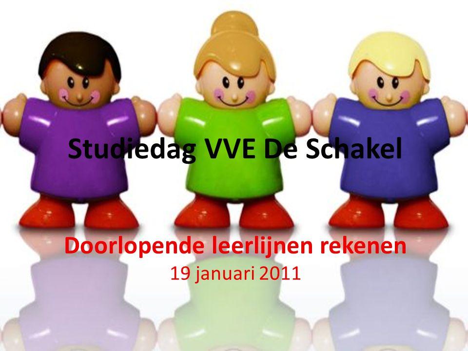 Studiedag VVE De Schakel Doorlopende leerlijnen rekenen 19 januari 2011