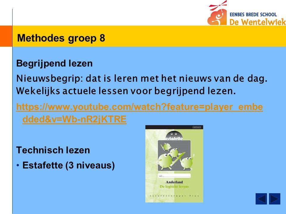Methodes groep 8 Begrijpend lezen Nieuwsbegrip: dat is leren met het nieuws van de dag.