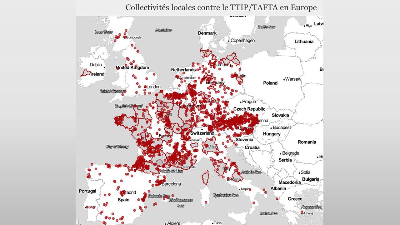 Tijdens de pauze – Pendant la pause Iedereen spreekt minstens 2 mensen aan die hij/zij niet kent en legt die uit wat te doen om CETA en TTIP te stoppen.